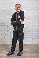 Спортивный костюм для мальчика т.серый
