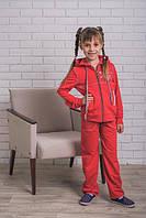 Спортивный костюм для девочки красный