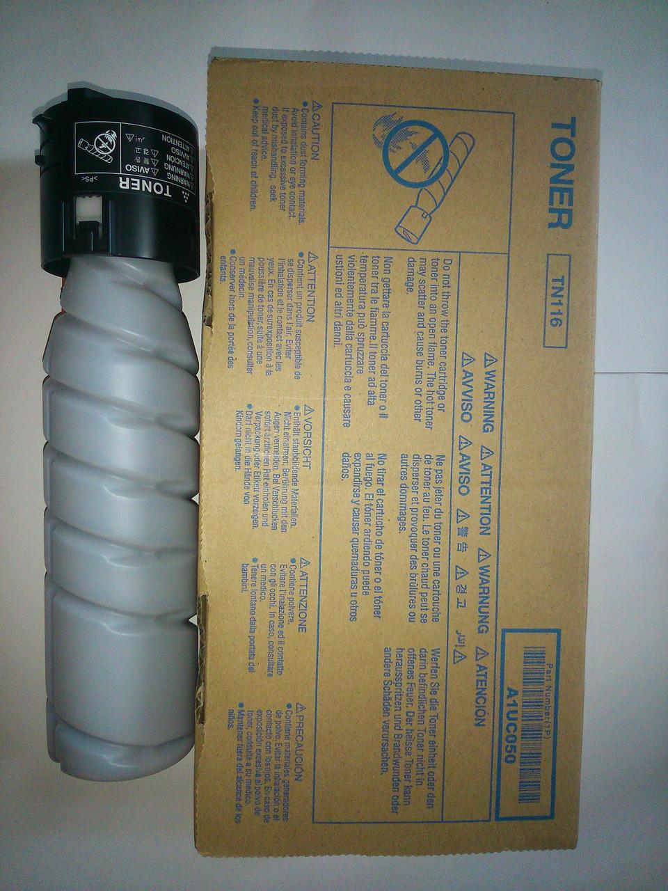 TN-116 Тонер Konica Minolta bizhub 164/165/185