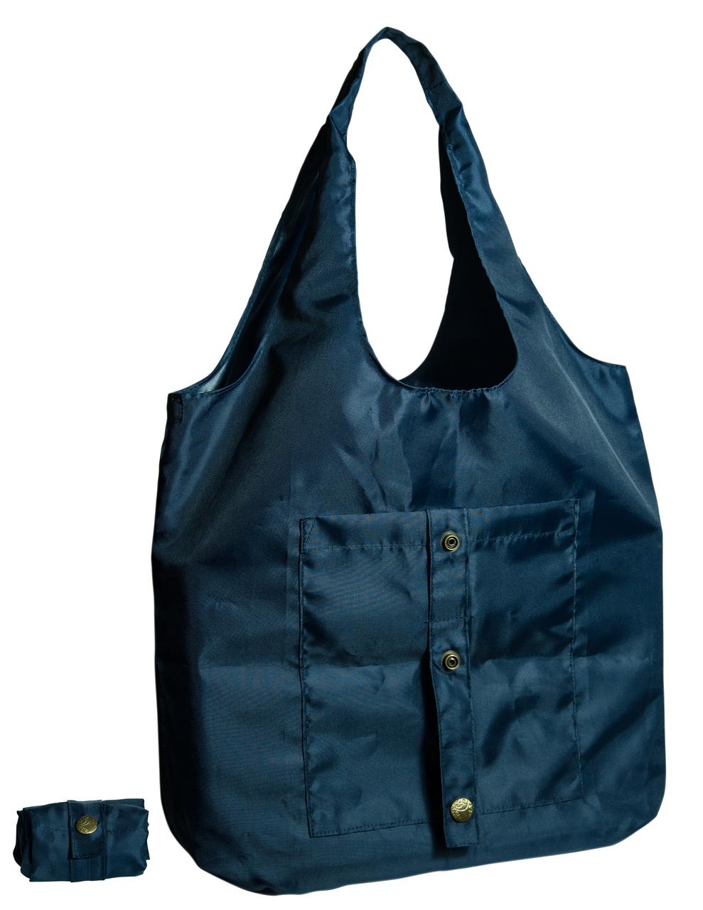 Сумка для покупок трансформер Gidra Ocean темно синяя сумка хозяйственная (Украина)