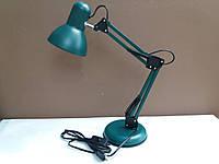 Лампа настольная ученическая многофункциональная зелёная, фото 1