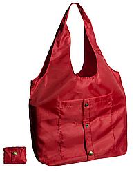 Сумка для покупок трансформер Gidra Red красная сумка хозяйственная (Украина)