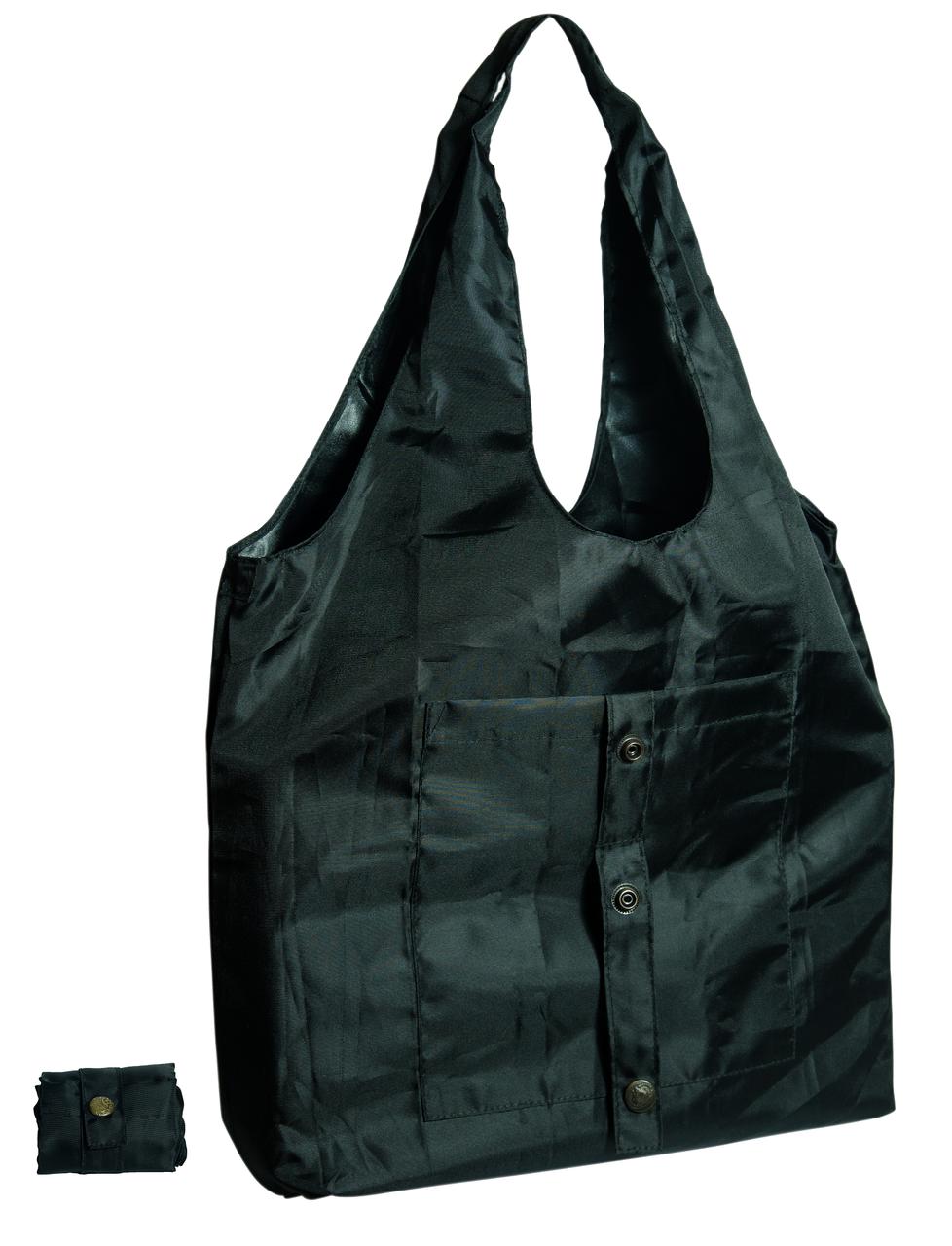 Сумка для покупок трансформер Gidra Black черная сумка хозяйственная (Украина)