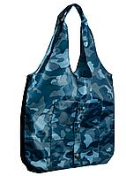 Сумка для покупок трансформер Gidra Jeans камуфляжная сумка хозяйственная (Украина)