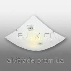 Светильник  BUKO 40 КВАДРАТ 300*300 1*E27