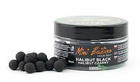 Бойлы Traper Mini Boilies Method Feeder Ø9мм Halibut Black
