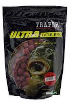 Бойлы Traper Ultra Boilies протеиновые 0,5кг 16мм Strawberry (Клубника)