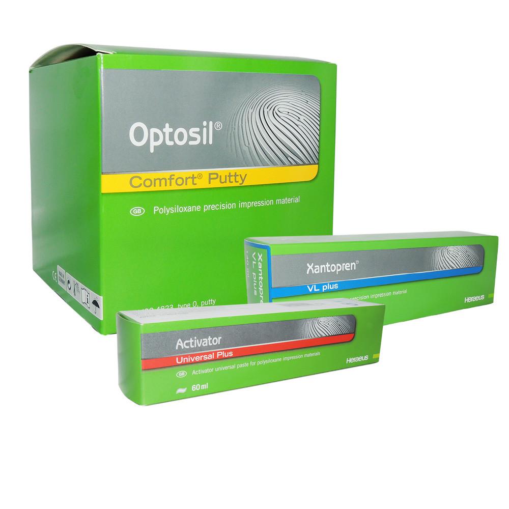 Оптосил набор (Optosil), С-силиконовый оттискной (слепочный) материал - hsdental в Виннице