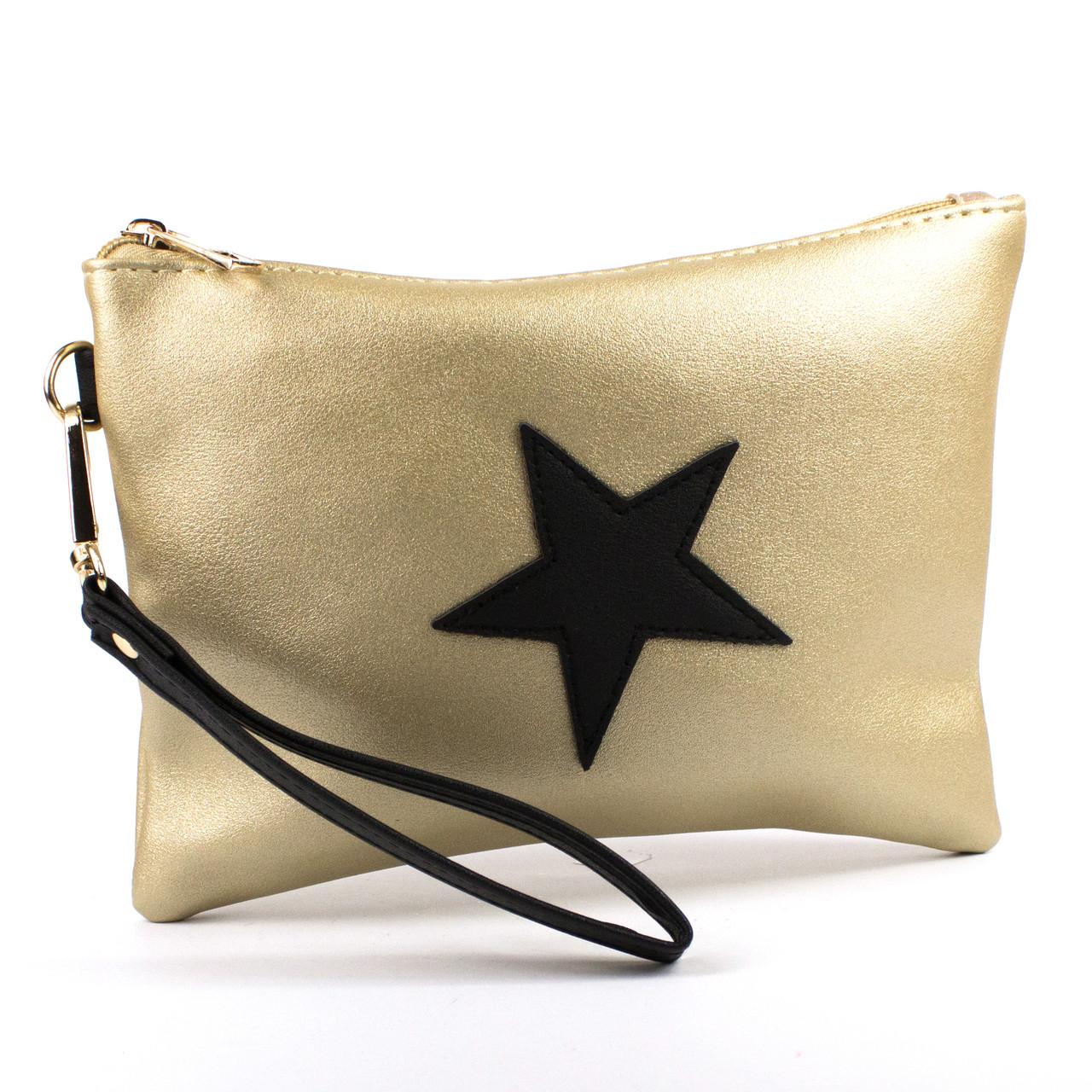 Косметичка Star Золотая