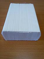 Бумажное листовое полотенце Z-сложения 200л, двухслойная 100% целлюлоза