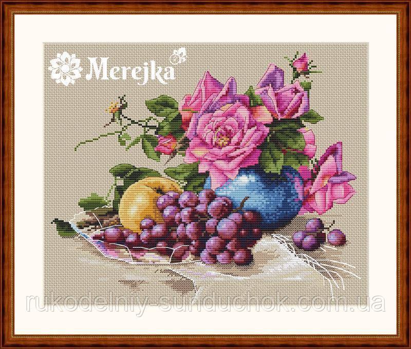 Набор для вышивки крестиком К-20 Натюрморт с виноградом