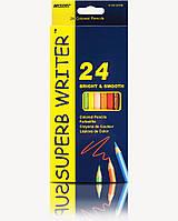Карандаш цветной Marco 4100-24CB 24 цвета Superb Writer, фото 1