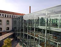 Спайдерная система фасадного остекления