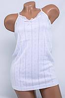 Изысканная женская майка Турция Hunex BD6570 White 46-48