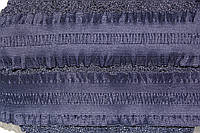 Резинка декоративная 60мм. т.синий , фото 1