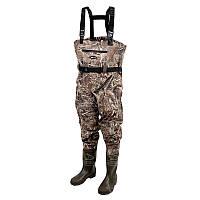 Вейдерсы Prologic Max5 Nylo-Stretch Chest Wader w/Cleated 44/45