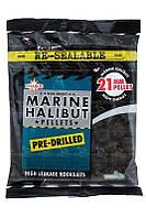 Пеллетс Dynamite Baits Marine Halibut 21мм Pre-Drilled 350г
