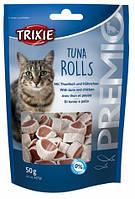 Лакомства для кошек Trixie Premio Tune Rolls с тунцом и мясом птицы
