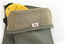 Женские кожаные перчатки Серые Маленькие WP-16103s1, фото 3