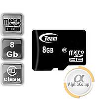 Карта памяти microSD 8GB Team Class 10 (TUSDH8GCL1002)