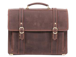 Портфель мужской кожаный РВМ-3