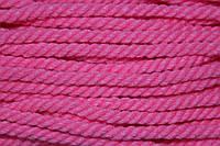 Канат декоративный акрил 8мм (50м) розовый