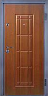 Входные двери металлические, бронированные, с декоративной МДФ накладкой с одной стороны VARTA STANDART VS100