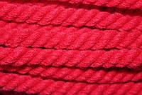 Канат декоративный акрил 12мм (30м) красный  , фото 1
