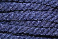Канат декоративный акрил 12мм (30м) т.синий , фото 1