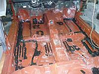 Окраска днища багажника в Одессе