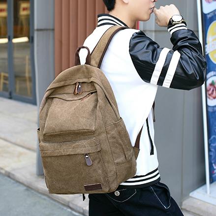 Тканевый рюкзак для ноутбука