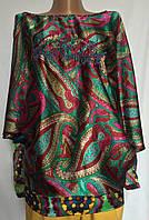 Женская блуза Desigual с цельнокроенным рукавом  размер M/L, фото 1