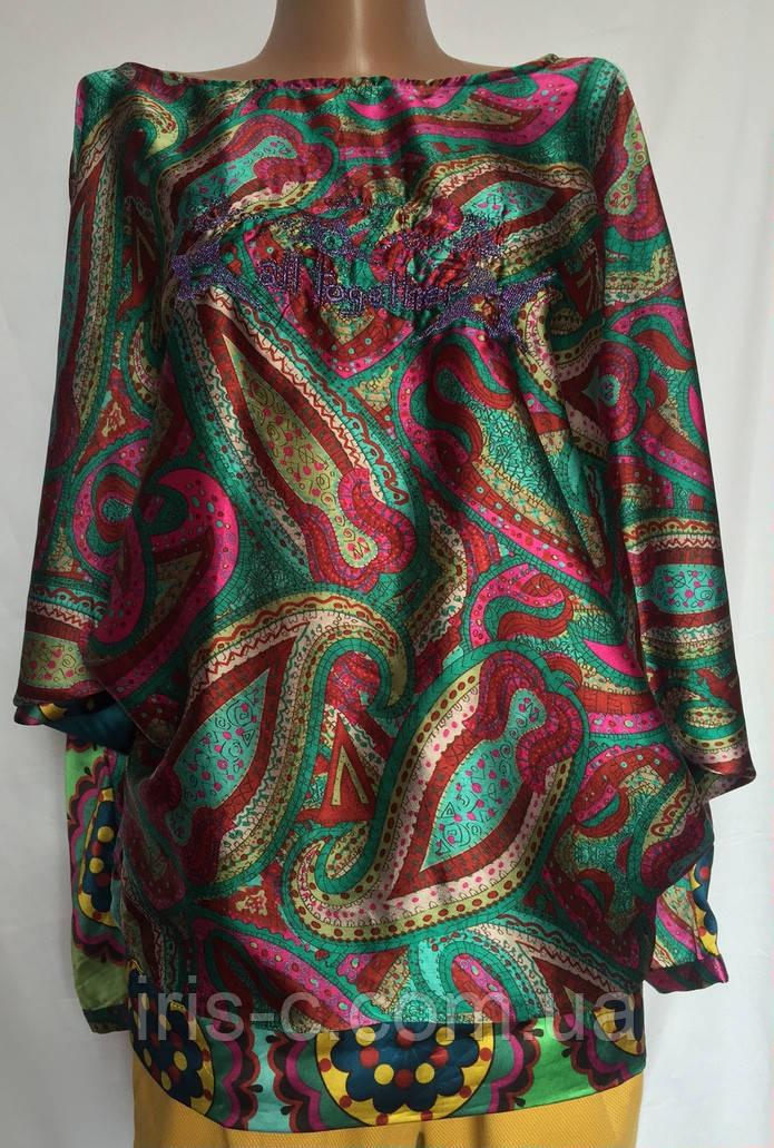 Женская блуза Desigual с цельнокроенным рукавом  размер M/L