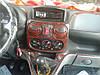Накладки на панель Фиат Добло / Fiat Doblo 2001-2010