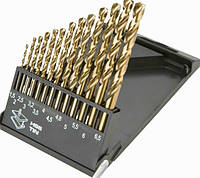 Набор сверл по металлу 1.5/6.5 (13 шт.) Triton-tools Р6М5 (200002)