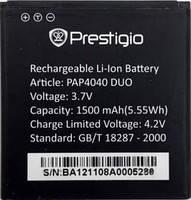 Аккумулятор на Prestigio PAP4040. 1500mAh. оригинал (Китай), фото 3