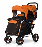 Коляска EasyGo Fusion Duo orange.