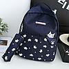 Школьный портфель с котиком 2 в 1, фото 2