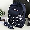 Школьный портфель с котиком 2 в 1, фото 5