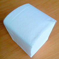 Туалетная бумага листовая V-сложения 150 листов двухслойная 100% целлюлоза