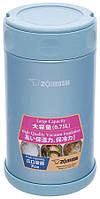 Пищевой термоконтейнер Zojirushi SW-FCE75AB 0,75л (синий)