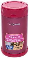 Пищевой термоконтейнер Zojirushi SW-FCE75PJ 0,75л (малиновый)