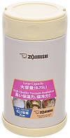 Пищевой термоконтейнер Zojirushi SW-FCE75YP 0,75л (бежевый)