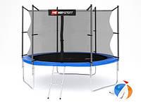 Батут Hop-Sport 10ft (305cm) blue с внутренней сеткой