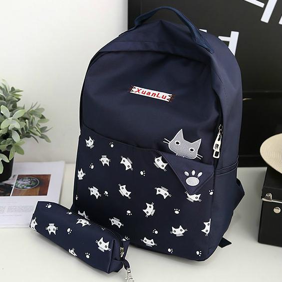 Школьный рюкзак с пеналом