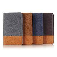 Чехол книжка с кожаными вставками на Samsung Galaxy Tab A 7.0 (4 цвета)