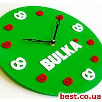Настенные часы с логотипом на заказ Acrylic [Акрил 2 слоя, Открытые]