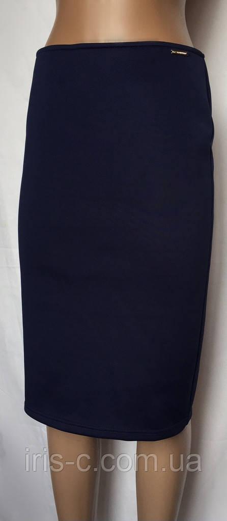 Женская юбка Love Republic из плотного трикотажа, деловой стиль, размер S/M
