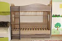 Кровать двухъярусная серии 7-3-2-101