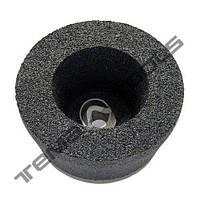 Абразивная чашка для шлифовки коническая ЧК 24А 150х50х32 50 СМ2 бакелит